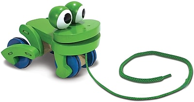 Melissa & Doug Frolicking Frog Pull Toy (3021)