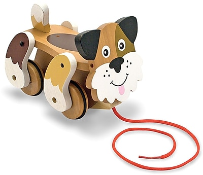 Melissa & Doug Playful Puppy Pull Toy (3028)
