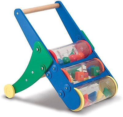 Melissa & Doug Rattle Rumble Toddler Push