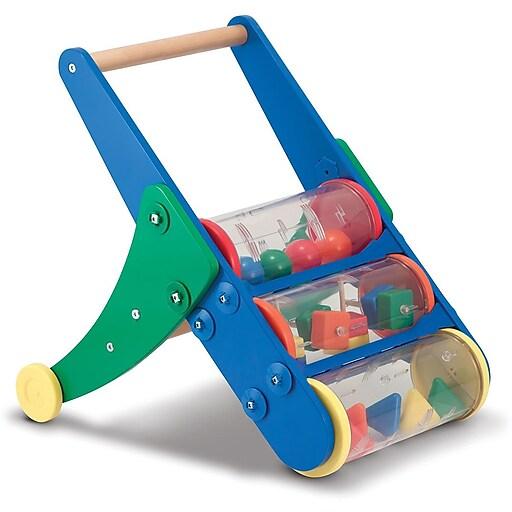 Melissa & Doug Rattle Rumble Toddler Push Toy (3077)