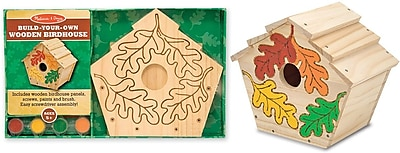 Melissa & Doug Build-Your-Own Wooden Birdhouse (3101)