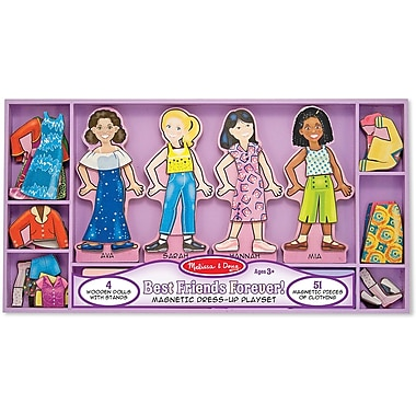 Melissa & Doug Best Friends Forever! Magnetic Dress-Up