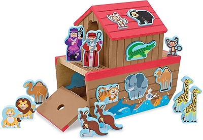 Melissa & Doug Noah's Ark Shape Sorter (3786)