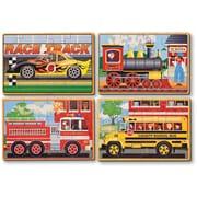 Melissa & Doug Vehicles Jigsaw Puzzles in a Box (3794)