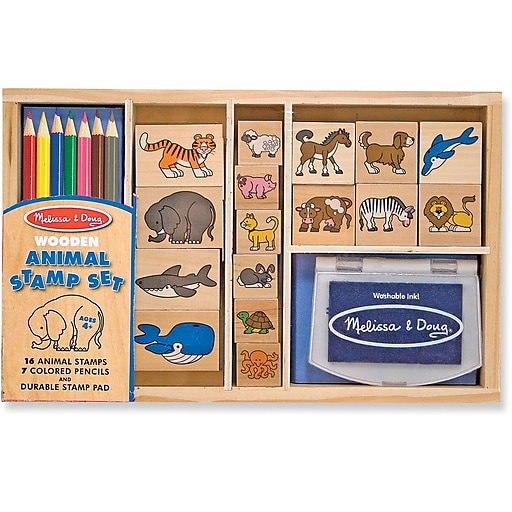 Melissa & Doug Animal Stamp Set (3798)