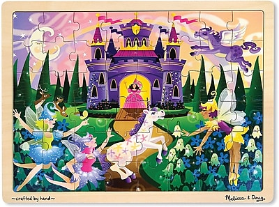 Melissa & Doug Fairy Fantasy Jigsaw Puzzle - 48 Pieces (3804)