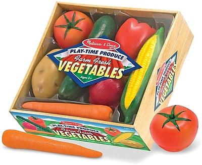 Melissa & Doug Play-Time Produce Vegetables - Play Food (4083)