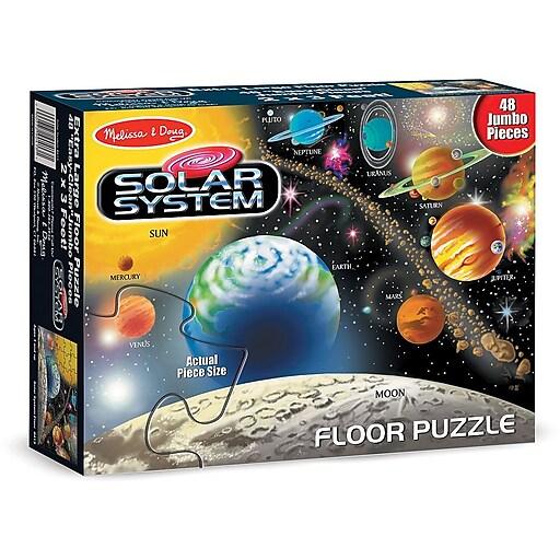 Melissa & Doug Solar System Floor Puzzle - 48 Pieces