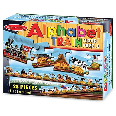 Melissa & Doug Alphabet Train Floor (28 pc)
