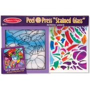 Melissa & Doug Rainbow Garden See-Through Window Art