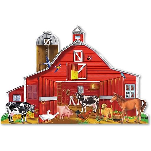 Melissa & Doug Farm Friends Floor (32 pc) (437)