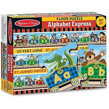Melissa & Doug Alphabet Express Floor Puzzle (27 pc)