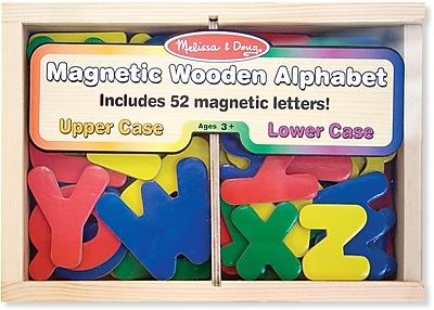Melissa & Doug Magnetic Wooden Alphabet Letters (448)