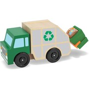 Melissa & Doug Garbage Truck Wooden Vehicle (4549)