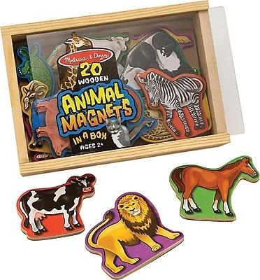 Melissa & Doug Wooden Animal Magnets 178222