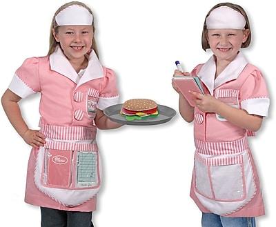 Melissa & Doug Waitress Role Play Costume Set