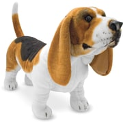 Melissa & Doug Basset Hound Dog Giant Stuffed Animal (4866)