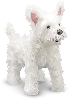 Melissa & Doug West Highland Terrier (Westie) - Plush