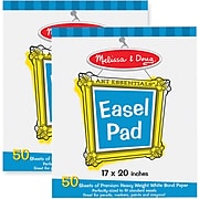 Melissa & Doug Deluxe Easel Pad Bundle 2-Pack (4937)
