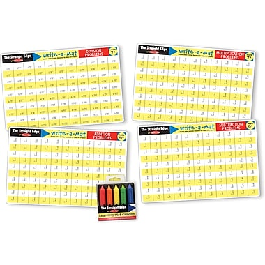 Melissa & Doug Math Skills Placemat Bundle
