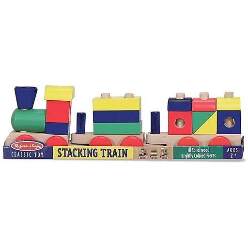 Melissa & Doug Stacking Train Toddler Toy (572)