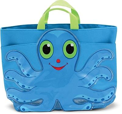 Melissa & Doug Flex Octopus Kids' Beach Tote Bag (6420)