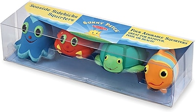 Melissa & Doug Seaside Sidekicks Squirters Water Toys (6435)