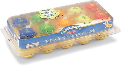 Melissa & Doug Taffy Sea Turtles Catch & Hatch Pool Toy