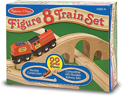 Melissa & Doug Figure 8 Train Set 178510