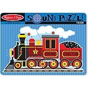 Melissa & Doug Train Sound Puzzle - 9 Pieces (729)