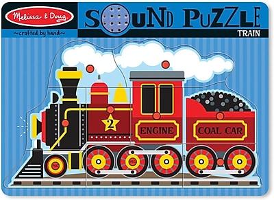 Melissa & Doug 729 Train Sound Puzzle