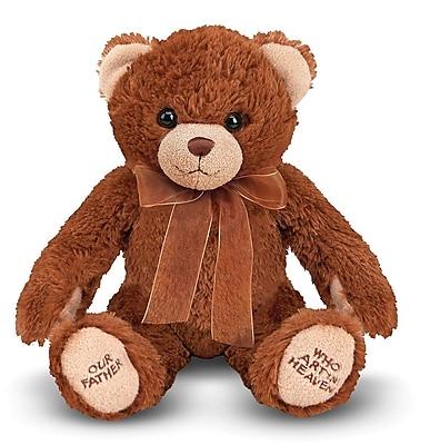 Melissa & Doug Lord's Prayer Bear Stuffed Animal (7422)