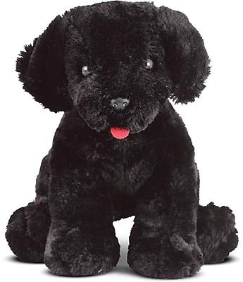Melissa & Doug Benson Black Lab Puppy Dog Stuffed Animal (7484)