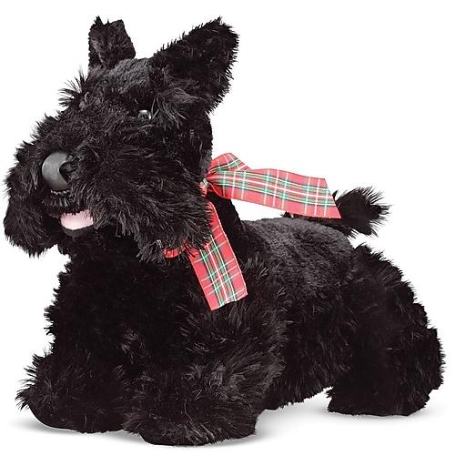 Melissa & Doug Maxwell Scottie Puppy Dog Stuffed Animal (7488)