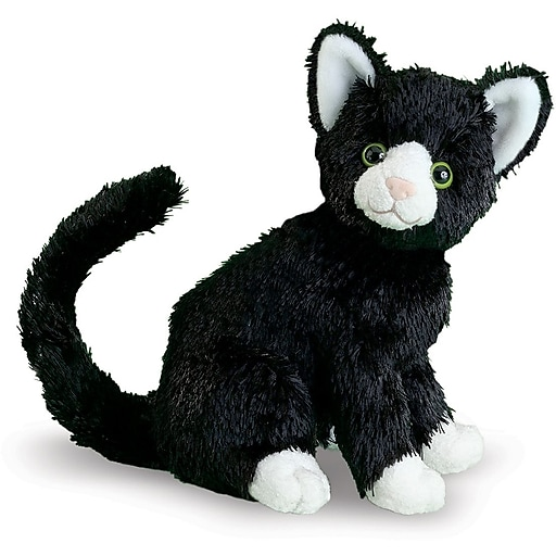 Melissa & Doug Midnight Black Cat Stuffed Animal (7528)