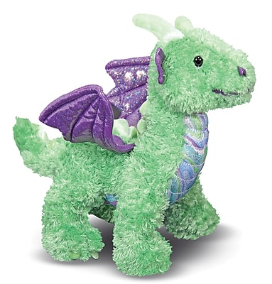 Melissa & Doug Zephyr Green Dragon Stuffed Animal (7570)