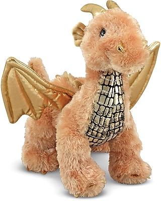 Melissa & Doug Luster Dragon Stuffed Animal (7571)