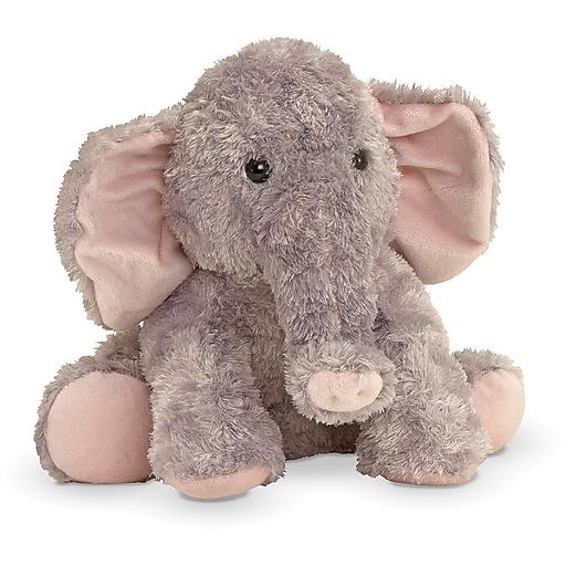 Melissa & Doug Sterling Baby Elephant Stuffed Animal (7602)