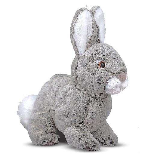 Melissa & Doug Brambles Bunny Rabbit Stuffed Animal (7673)