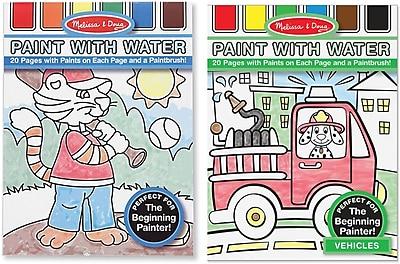 Melissa & Doug Paint with Water Bundle - Boy (8722)