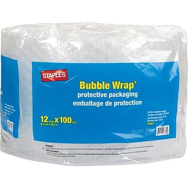 Staples® Premium Bubble Wrap, 12
