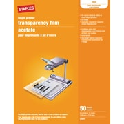 Staples® Inkjet Transparency Film