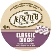 Jetsetter Coffee Co. Classic Diner Coffee, Single Serve Cups, 18/Pack