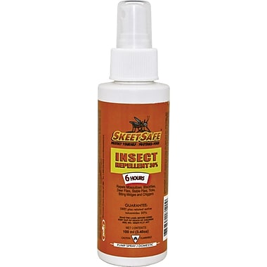 SkeetSafe Insect Repellent Liquid Spray, 30% DEET