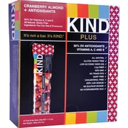 KIND Cranberry Almond PLUS Antioxidants Bars, 1.41 oz. Bars, 12 Bars/Box