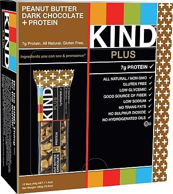 KIND® Peanut Butter Dark Chocolate Bar, 12/Bx