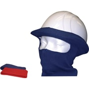 Revêtement de casque de sécurité d'hiver ignifuge, masque complet