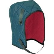 Revêtement de casque de sécurité, longueur normale, bleu, paq./4