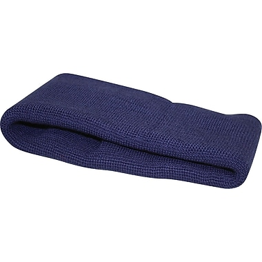 Winter Hard Hat Liner, Ear Band Style, Navy Blue