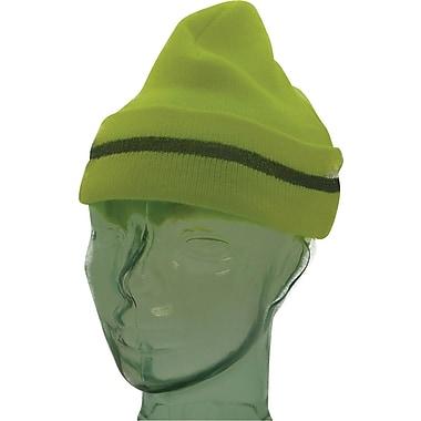 Tuque de haute visibilité, couleur de citron vert